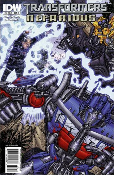 Transformers: Nefarious 6-B by IDW