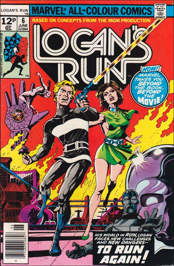 Logan's Run (1977) 6-C by Marvel