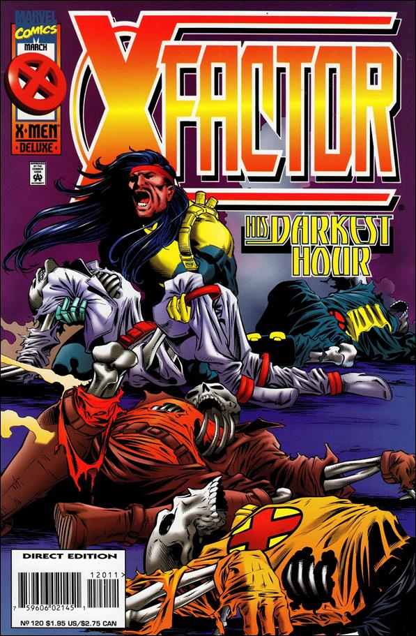 X-Factor (1986) 120-A by Marvel