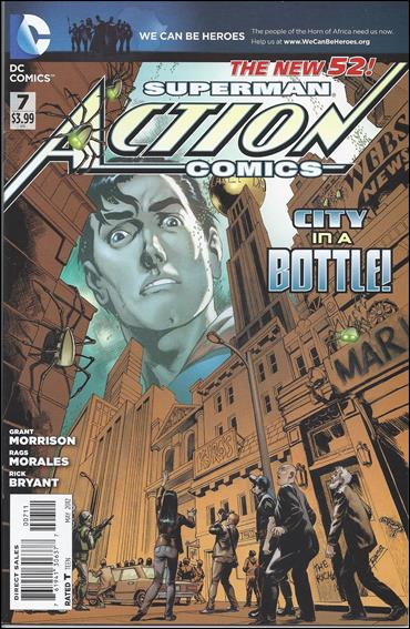 Action Comics (2011) 7-A by DC
