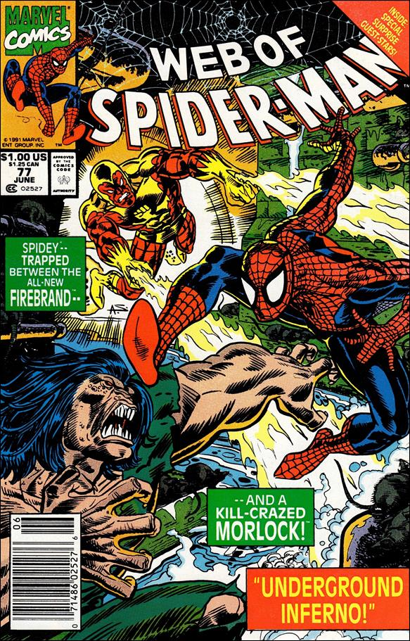 Web of Spider-Man (1985) 77-A by Marvel