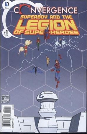 Convergence Superboy and the Legion of Super-Heroes 1-A