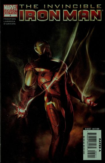 Invincible Iron Man (2008) 5-B by Marvel