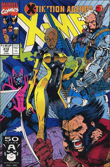 Uncanny X-Men (1981) 272-A by Marvel