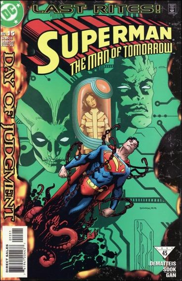 Superman: The Man of Tomorrow 15-A by DC