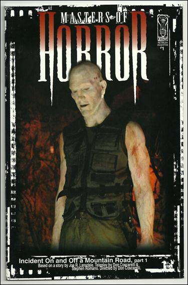 Masters of Horror 1-C by IDW