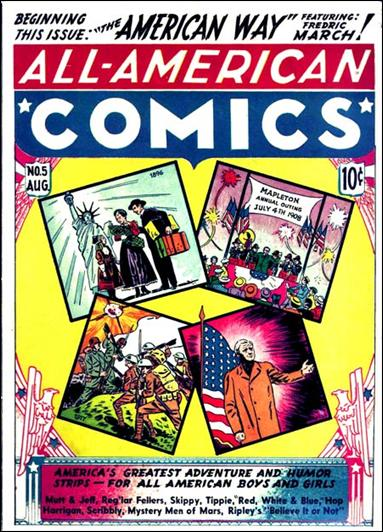 All-American Comics (1939) 5-A by DC