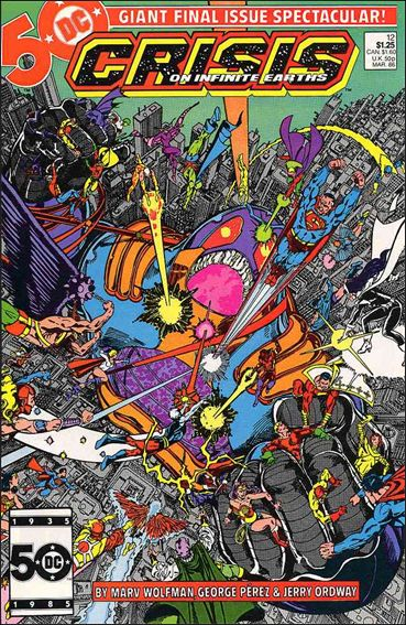 Crisis on Infinite Earths 12-A by DC