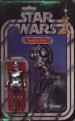 "Star Wars 3 3/4"" Basic Action Figures (Vintage) Death Star Droid (SW 20 Back) by Kenner"