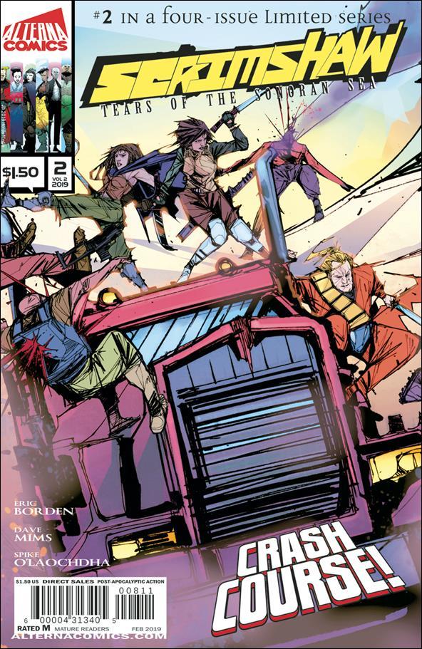Scrimshaw: Tears of the Sonoran Sea 2-A by Alterna Comics