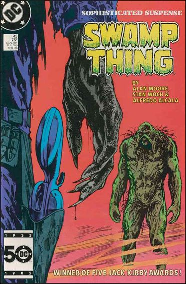 Saga of the Swamp Thing 45-A by DC