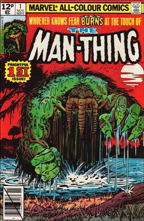 Man-Thing (1979) 1-B