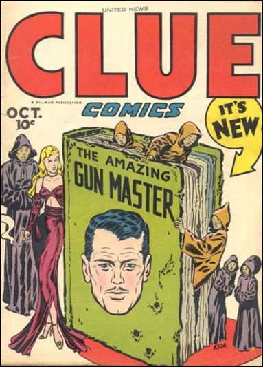 Clue Comics (1943) 10-A by Hillman