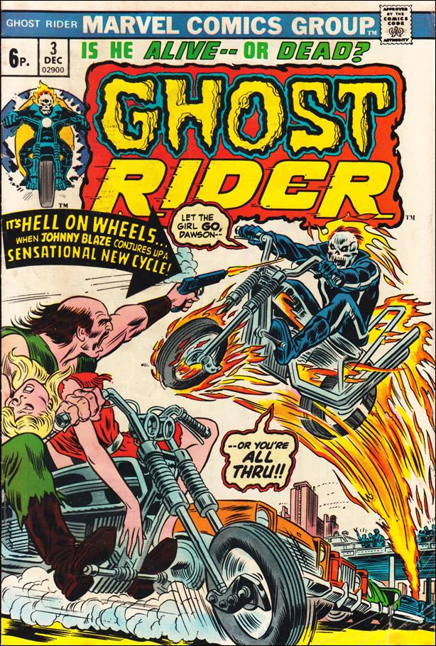Ghost Rider (1973) 3-B by Marvel