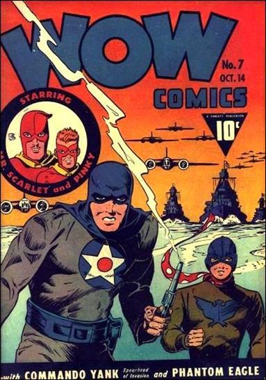 Wow Comics (1940) 7-A by Fawcett