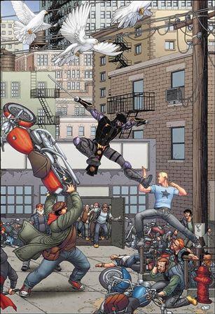 Ninjak vs the Valiant Universe 4-D