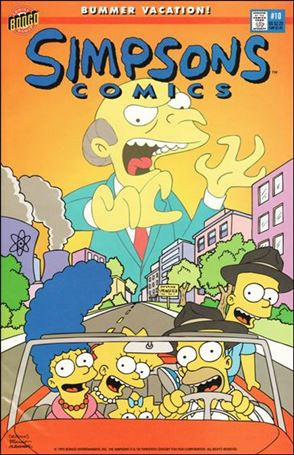 Simpsons Comics 10-A