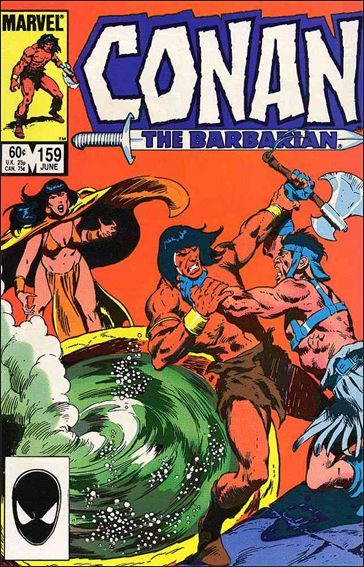 Conan the Barbarian (1970) 159-A by Marvel