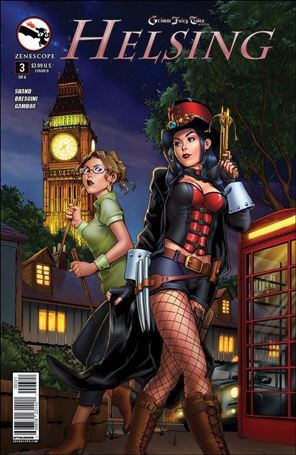 Grimm Fairy Tales Presents Helsing 3-B