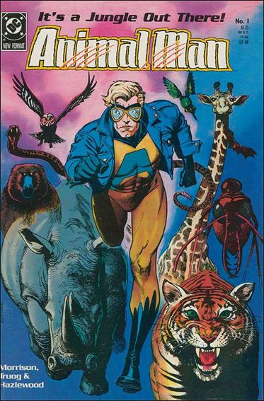 Animal Man (1988) 1-A by Vertigo