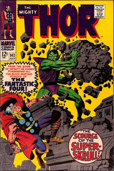 Thor (1966) 142-A by Marvel