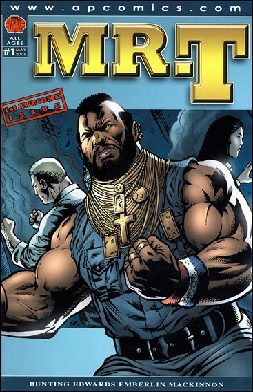Mr. T 1-A by AP Comics