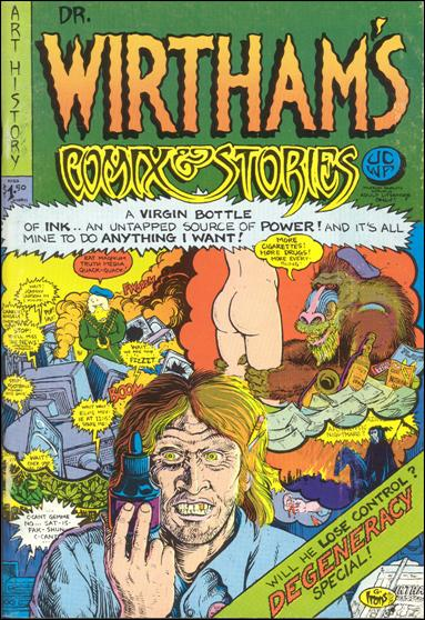 Dr. Wirtham's Comix & Stories 4-A by Clifford Neal