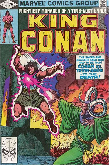 King Conan 4-A by Marvel