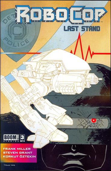 Robocop: Last Stand 3-A by Boom! Studios