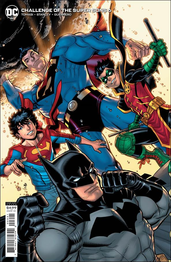 Challenge of the Super Sons 6-B by DC