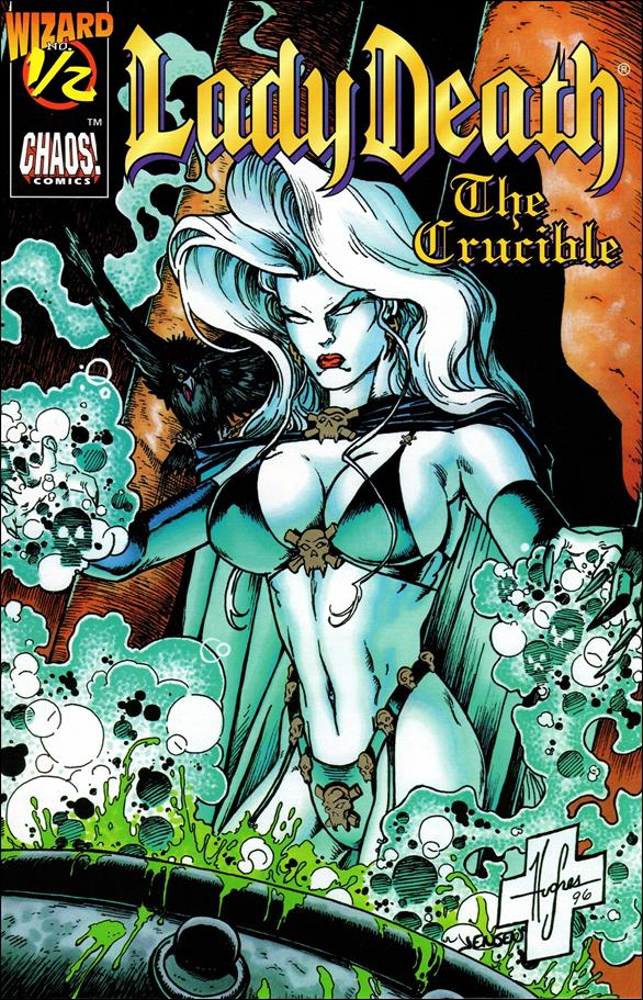 Lady Death IV: The Crucible 1/2-A by Chaos! Comics