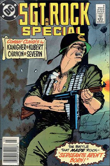 Sgt. Rock Special (1988) 3-A by DC