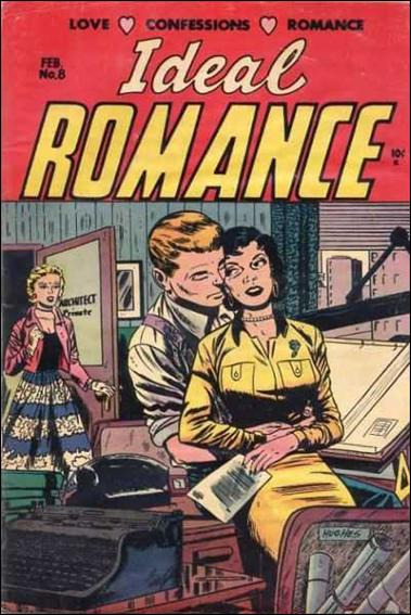 Ideal Romance 8-A by Key Publications