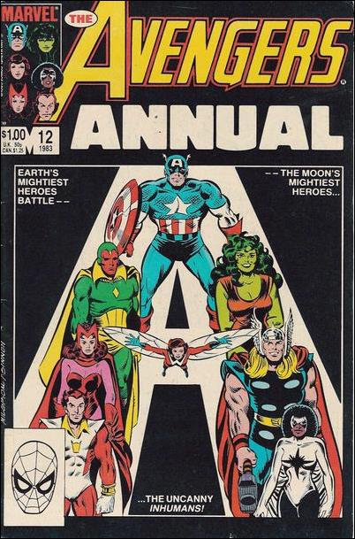 Avengers Annual 12-A by Marvel