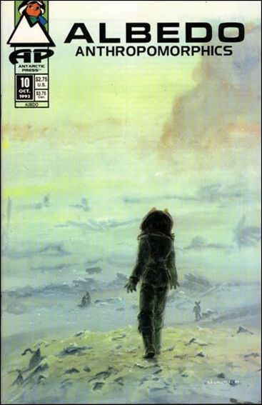 Albedo (1991) 10-A by Antarctic Press