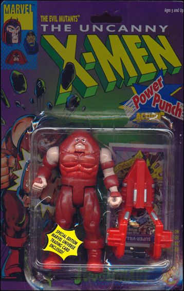 "X-Men 5"" Action Figures Juggernaut (Red Boots) by Toy Biz"