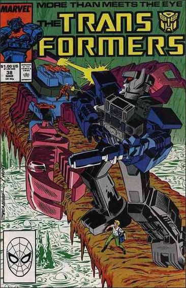Transformers (1984) 38-A by Marvel