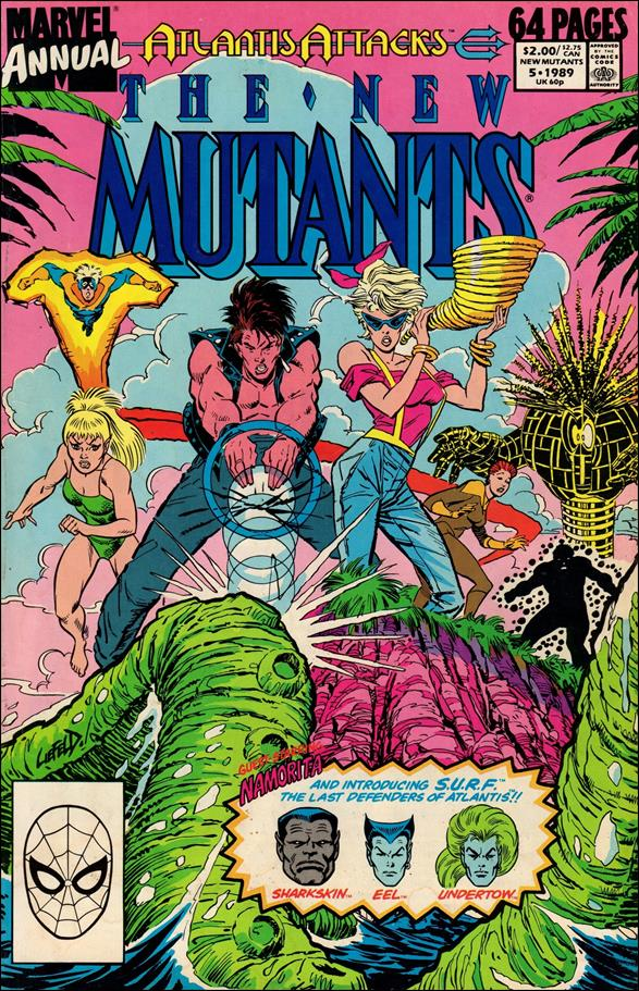 New Mutants Annual 5-A by Marvel