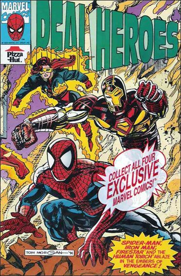 Real Heroes (1994) 4-A by Marvel