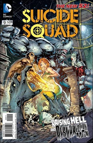Suicide Squad (2011) 9-A by DC