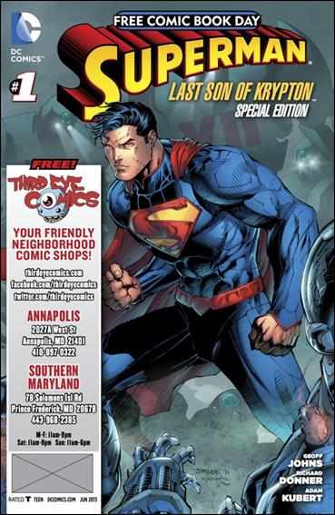 Superman: The Last Son of Krypton FCBD Special Edition 1-M by DC