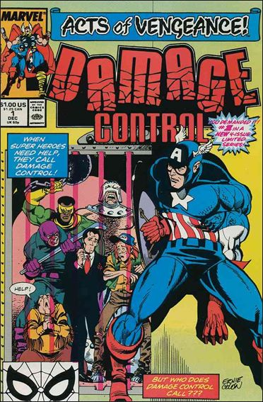 Damage Control (1989/12) 1-A by Marvel