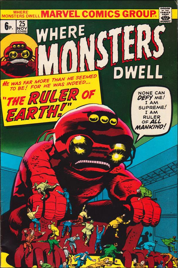 Where Monsters Dwell (1970) 25-B by Marvel
