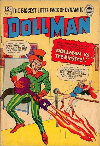 Doll Man (1963) 15-A by Super Comics