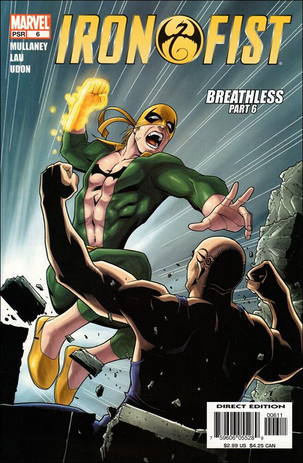Iron Fist (2004) 6-A by Marvel