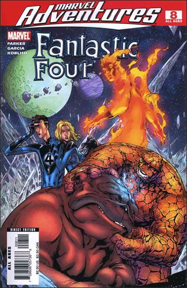 Marvel Adventures Fantastic Four 8-A by Marvel