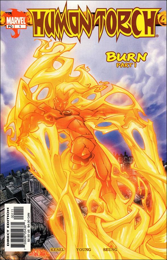 Human Torch (2003) 1-A by Marvel