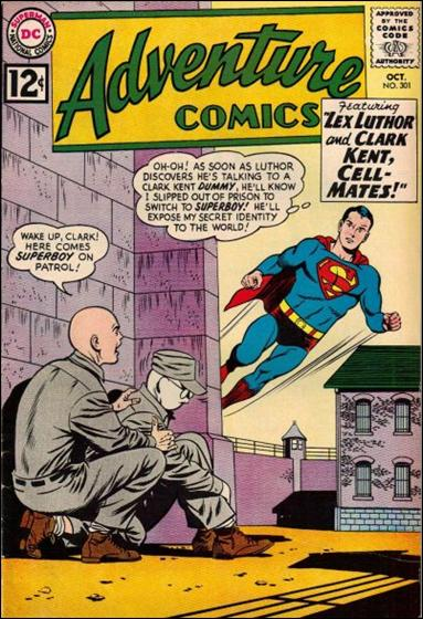Adventure Comics (1938) 301-A by DC