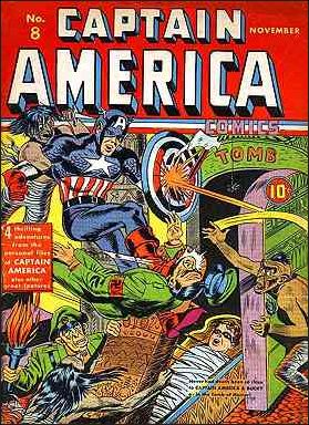 Captain America Comics (1941) 8-A by Timely