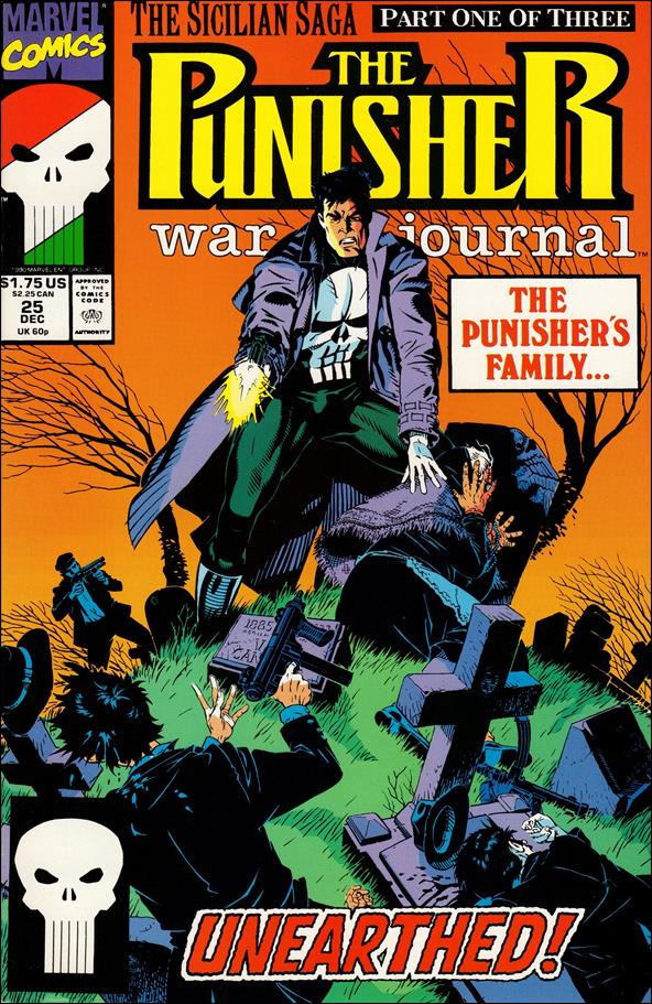 Punisher War Journal (1988) 25-A by Marvel